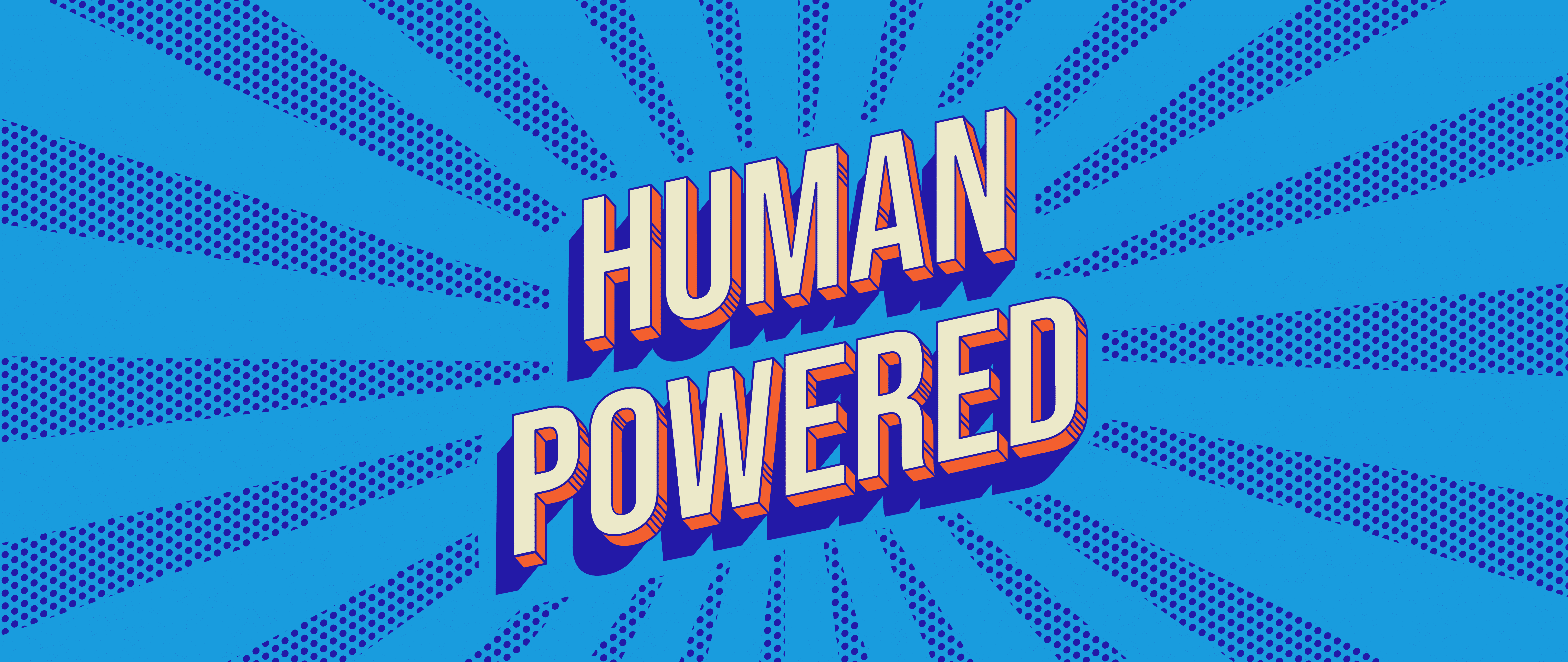 Human Powered Podcast Logo