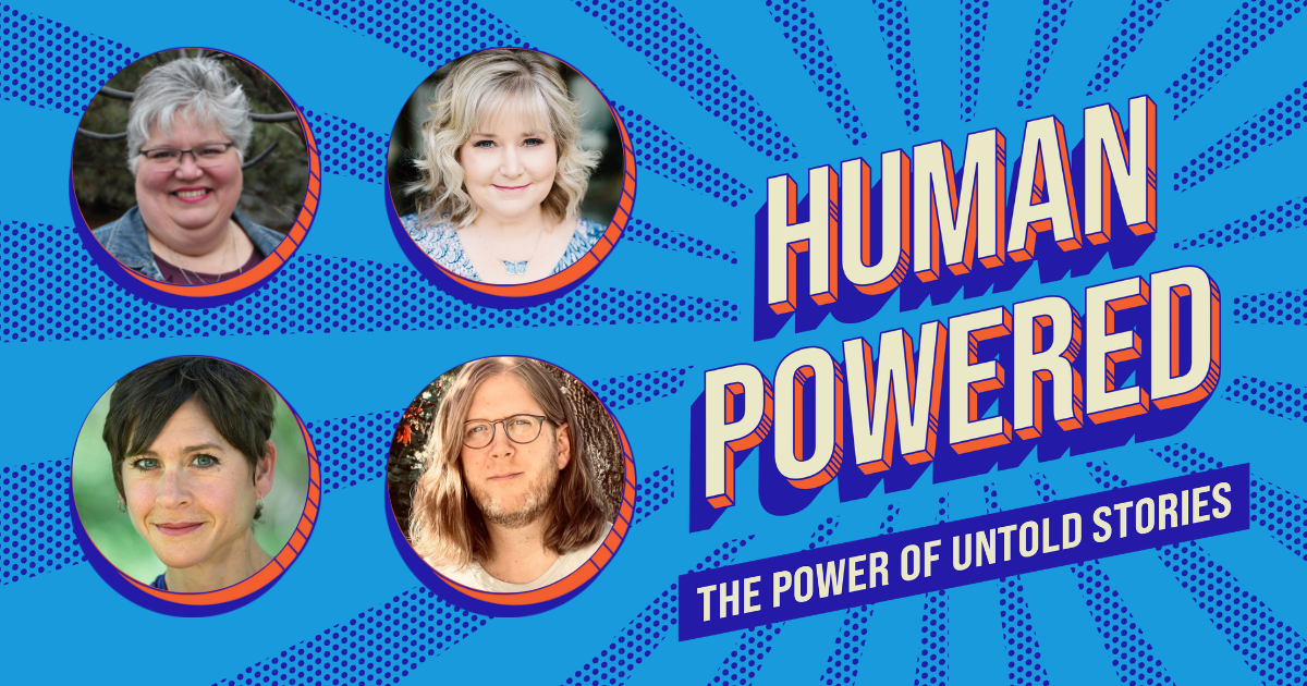 Human Powered podcast Untold Stories