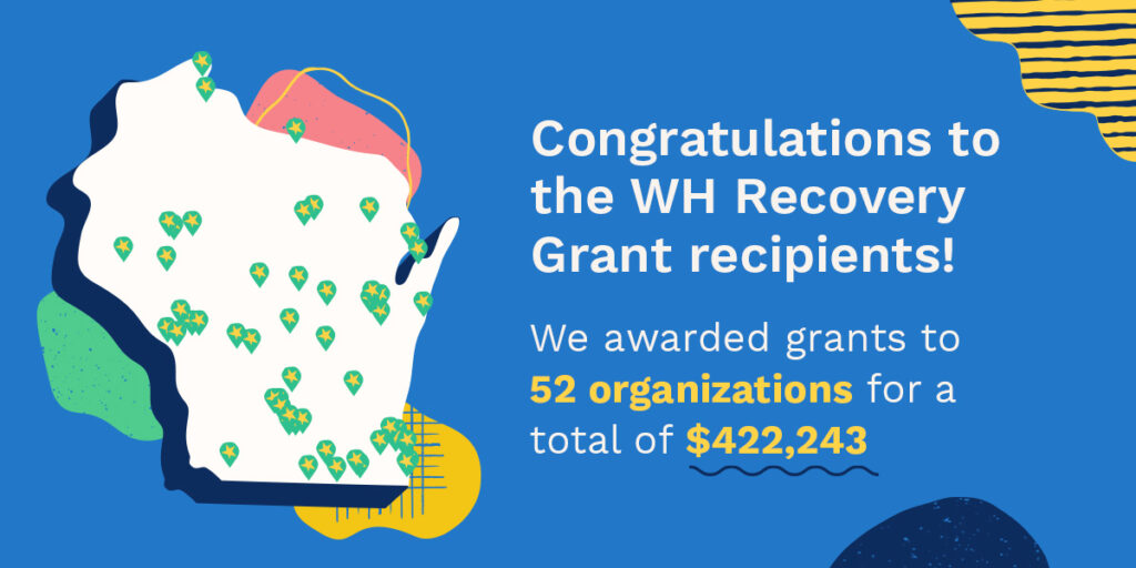 Wisconsin Humanities Recovery Grants Round 1
